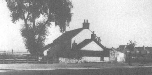 Grange Farm in 1890, before most local housing was built